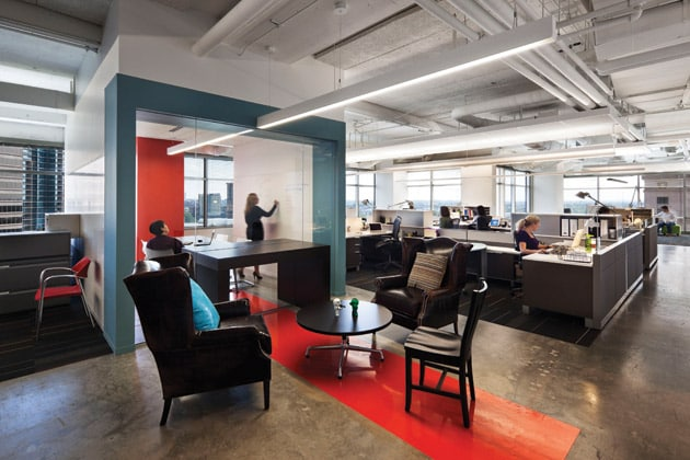 custom designed office furniture