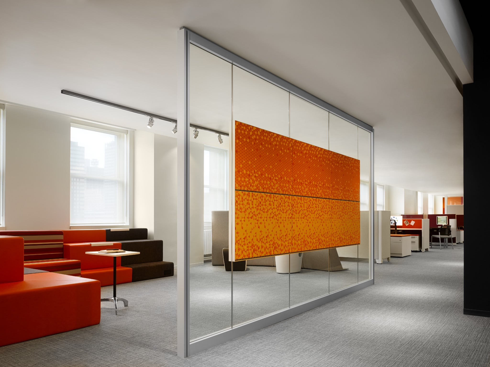Glass partition wall office glass partition wall system for Glass walls