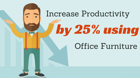 You will be surprise the effects the things you sit on and use in the office does to your productivity