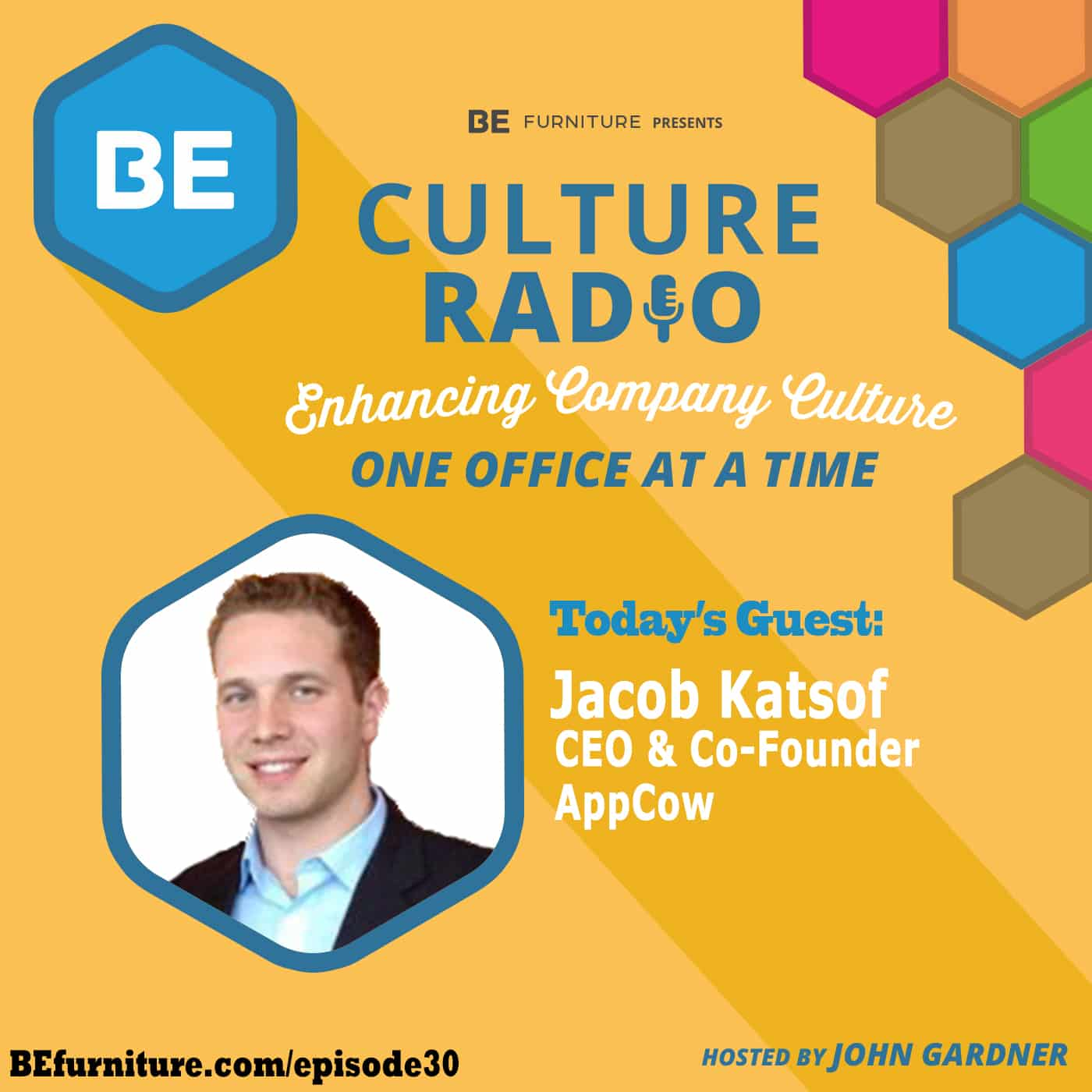 Jacob Katsof - CEO and founder of AppCow