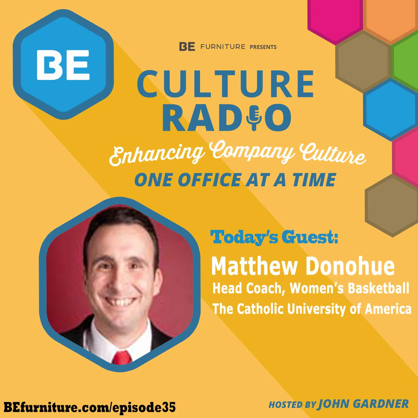 Matthew Donohue - Head Coach, Women's Basketball - The Catholic University of America