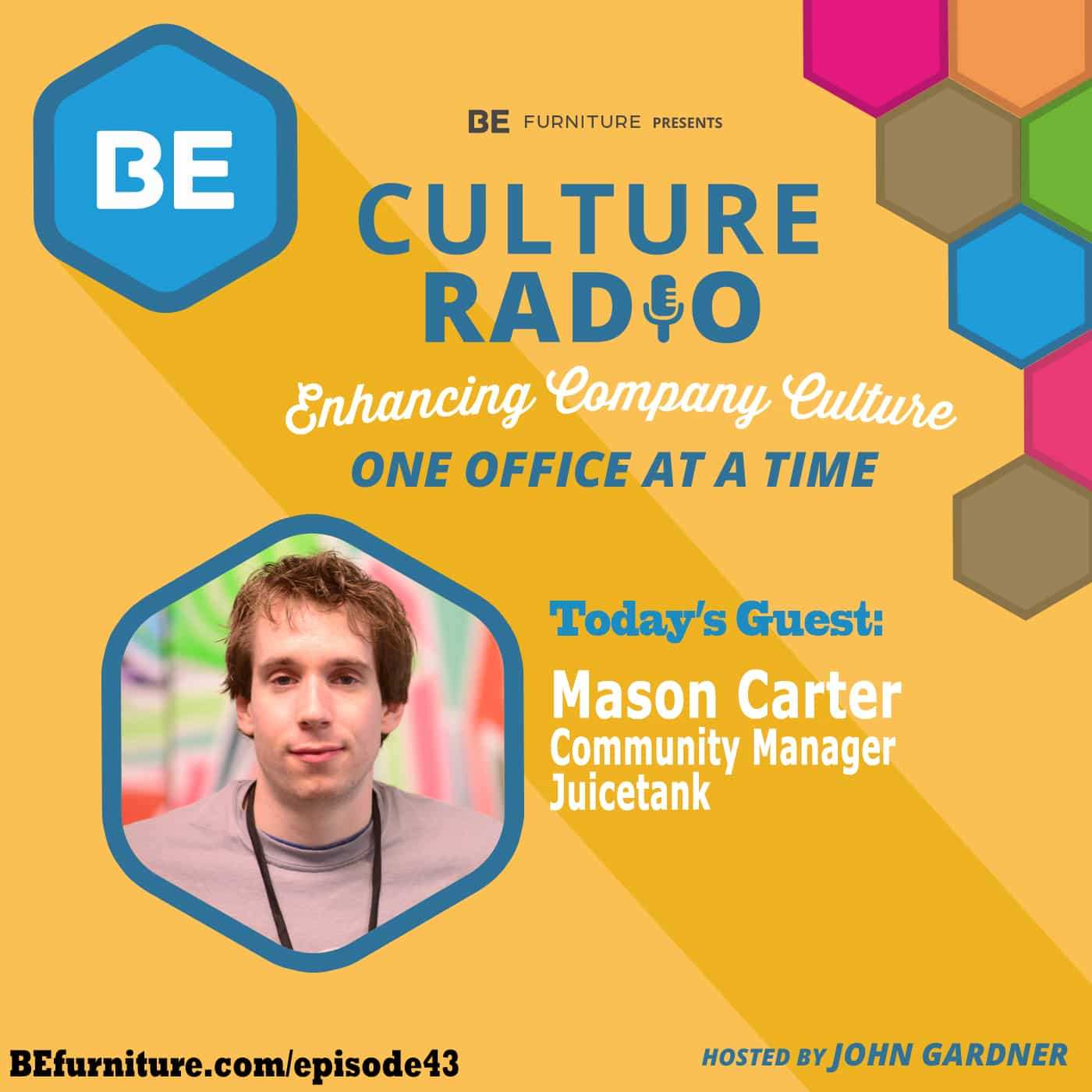 Mason Carter - Community Manager, Juicetank