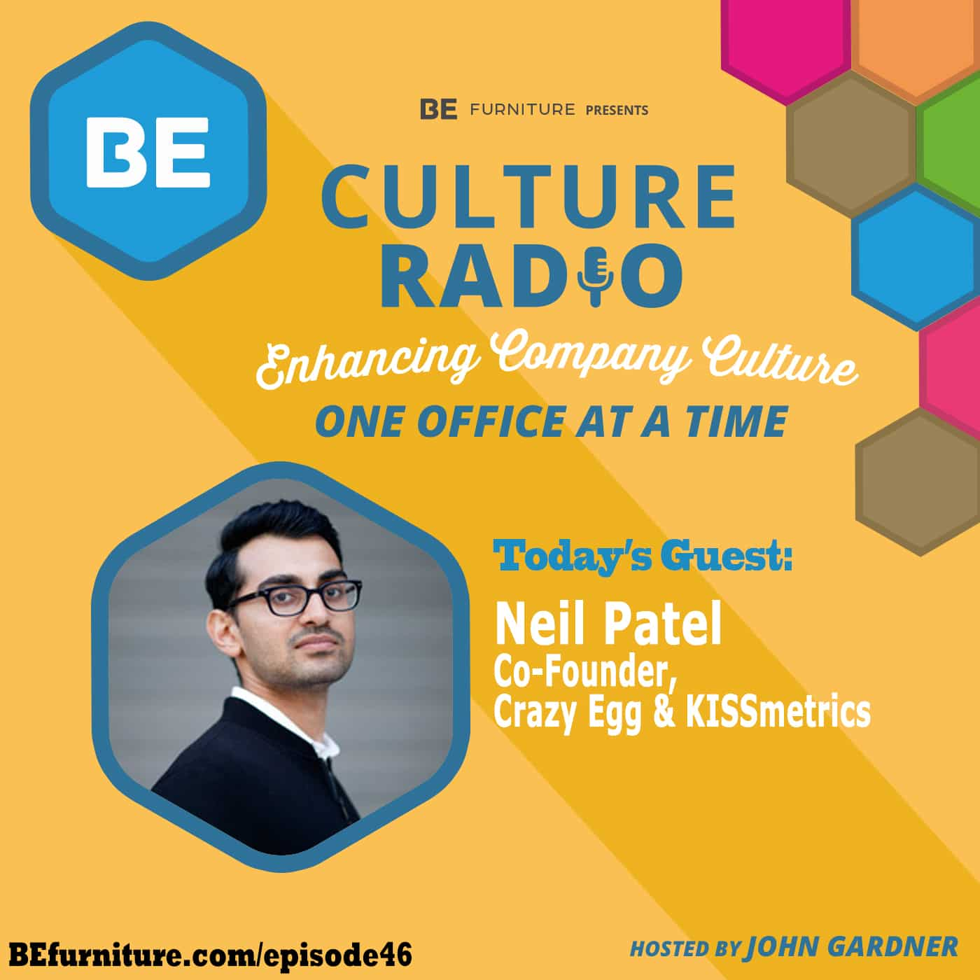 Neil Patel - Co Founder, KISSmetrics & Crazy Egg