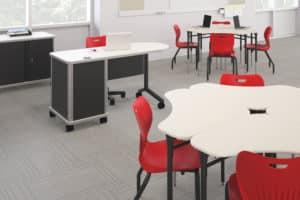 Smartlink Associate Desk Cluster 2