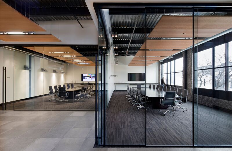 office wall motivational walll glass partition wall office system