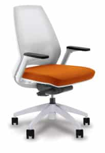 4U-midback-mesh-orange-seat-white-base