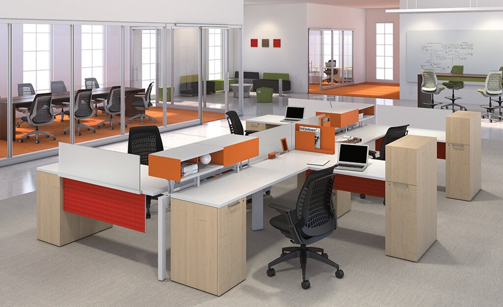 Modern Offices Design Bold Industrial Office Design For