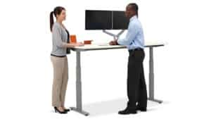 adjustable height office desks