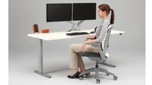 ergonomic desk BE Furniture