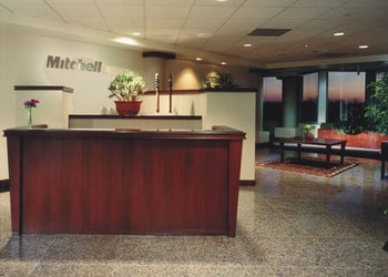 Contemporary reception desks