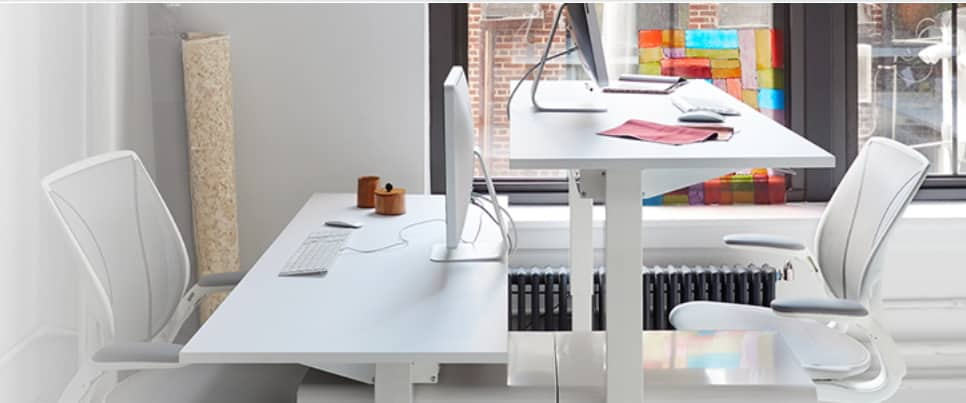 Adjustable Height Desks & Sit Stand Desks by BE Furniture