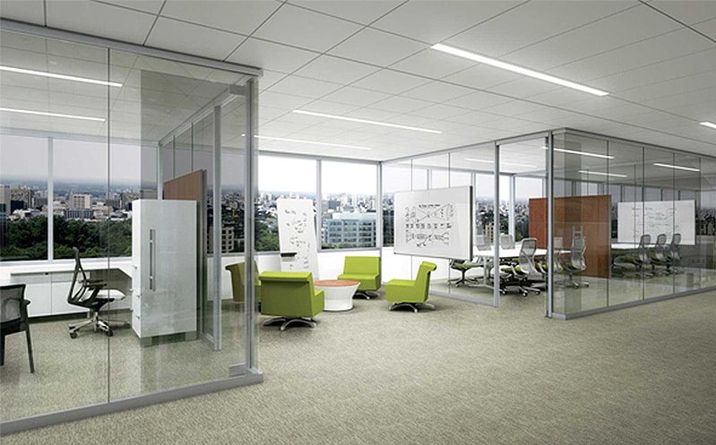 Commercial office furniture commercial office interiors for Office design help