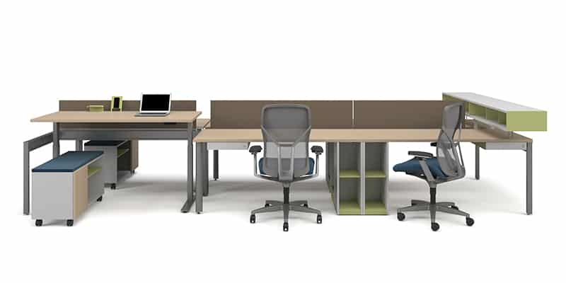 """Height adjustable desk- can be used in benching and touchdown applications.<br> <br> <a href=""""https://www.befurniture.com/contact/"""">MORE INFO</a><p style=""""text-align: right;"""">973.828.0541</p>"""