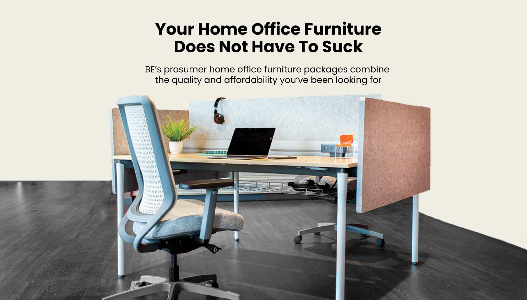 Working From Home with BE Furniture
